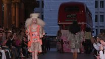 London Fashion Week: On the catwalk
