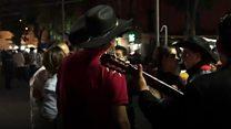 Mariachi gunmen in Mexico City shooting