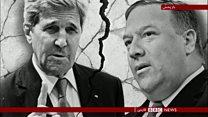 بالا گرفتن دعوا بر سر ایران بین وزرای فعلی و قبلی آمریکا