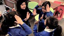 Music lessons at Feversham Primary school
