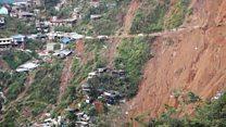 Typhoon Mangkhut's trail of destruction