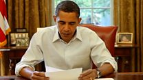 The people who wrote letters to Obama