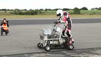 Shop faster with jet-powered trolley?
