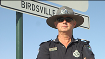The outback policeman