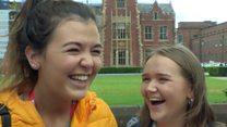 'I felt like a wee first year'