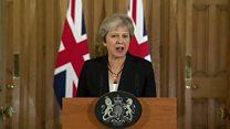 Theresa May's statement after Salzburg summit