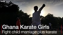 Ghana girls dey use karate fight child marriage