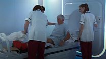 New cancer machine treats first patient in UK