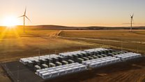 Take a look around world's biggest battery