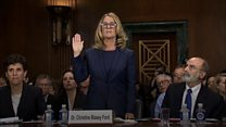 Ford's dramatic testimony in two minutes