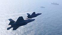 Fighter jets land on HMS Queen Elizabeth