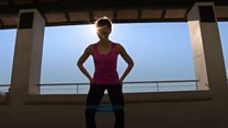 How do ballet dancers keep fit?