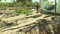Indonesia quake turns ground into liquid