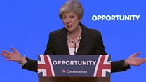 May's full Conservative conference speech