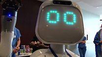 Meet Moxi - the hospital robot