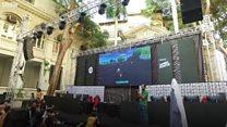 قمة للألعاب الإلكترونية تنافس فيها مئات الشباب في مصر