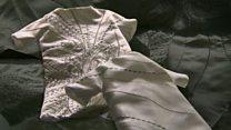 Wedding gowns remade for stillborn babies