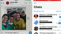 Fighting Brazil's election on WhatsApp