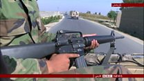 حمله جنگجویان طالبان به ولایت میدان وردک افغانستان