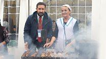 Праздник для Кадырова: шашлык-машлык, лезгинка и другие развлечения Грозного
