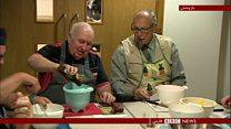 کلاس آشپزی برای مردان سالمند