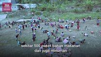 Desa terisolasi di Donggala terima bantuan untuk pertama kalinya