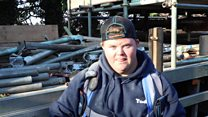 The scaffolder with Down's syndrome