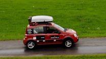 Manchester to Russia in a Fiat Panda