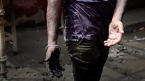 Unblocking India's sewers... by hand