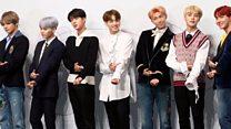 K-pop sensation BTS speak to BBC