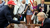 Trump hat empowered me, says Kanye West