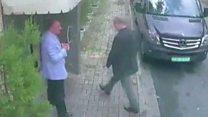 失踪の記者、サウジ総領事館に入る映像