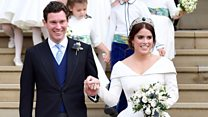 Celebrity guests attend Royal wedding