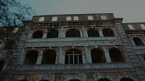 Memories of luxury at abandoned hotel