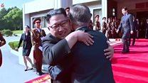 South Korea leader talks Kim Jong-un and... dogs