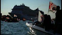 ベネチアを観光客から取り戻せ 地元住民の戦い