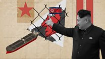How is North Korea evading sanctions?