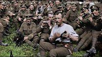 Como um diretor vencedor do Oscar deu cor a emocionantes imagens da 1ª Guerra