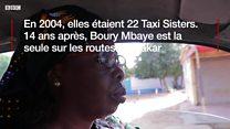Boury Mbaye, la seule taxi-woman de Dakar