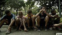 Венесуэла: голод разделяет детей с родителями