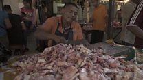 'A carne está apodrecendo e os cadáveres se decompondo': Retratos do colapso da Venezuela