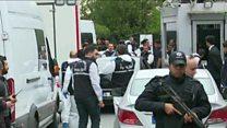 عشرات المحققين الأتراك يصلون إلى منزل القنصل السعودي في اسطنبول