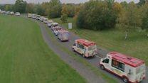 Ice cream vans scoop world record