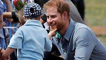 5歳の男の子、ハリー王子のひげがお気に入り 豪州