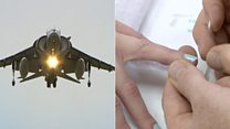 Male aircraft mechanic switches career to nail painting