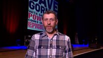 Dave Gorman: 'Why I'm leaving London'