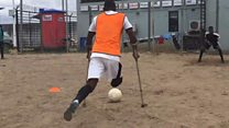 'Amputee football changed my life'