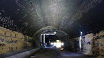Inside city's 'secret railway tunnel'