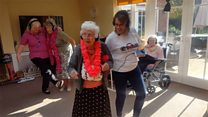 Silent disco held in dementia care trial