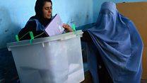 انتخاب پارلمانی در افغانستان برگزار شد